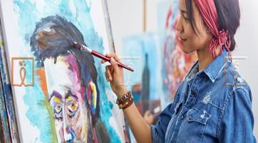 تأثیر نقاشی بر کاهش استرس در ام اس